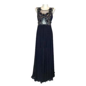 Abito lungo blu notte - Boutique Viggiani - Abbigliamento donna casual e cerimonia a Pisticci