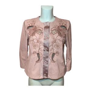 Giubbotto in ecopelle rosa - Boutique Viggiani - Abbigliamento donna casual e cerimonia a Pisticci