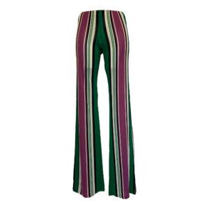 Pantalone largo a righe - Boutique Viggiani - Abbigliamento donna casual e cerimonia a Pisticci