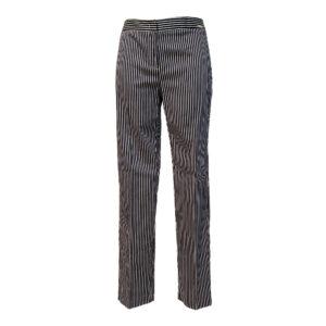 Pantalone a righe blue navy e bianco - Boutique Viggiani - Pisticci
