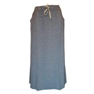 Gonna millerighe blu bianco - Boutique Viggiani - Shopping online - Abbigliamento donna casual e cerimonia a Pisticci