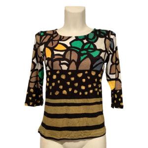 Maglia a fantasia floreale - Boutique Viggiani - Abbigliamento donna casual e cerimonia a Pisticci