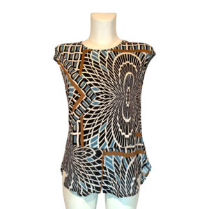 Maglia a fantasia optical - Boutique Viggiani - Shopping online - Abbigliamento donna casual e cerimonia a Pisticci