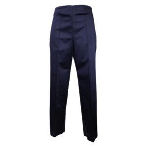 Pantalone a vita alta blu - Boutique Viggiani - Shopping online - Abbigliamento donna casual e cerimonia a Pisticci
