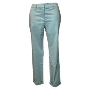 Pantalone con tasche alla francese verde acqua - Boutique Viggiani - Shopping online - Abbigliamento donna casual e cerimonia a Pisticci