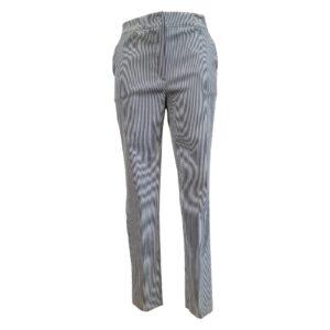 Pantalone millerighe blu e bianco - Boutique Viggiani - Shopping online - Abbigliamento donna casual e cerimonia a Pisticci