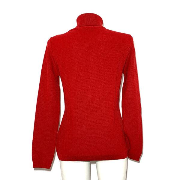 Maglia a dolcevita rossa - Boutique Viggiani - Shopping online - Abbigliamento donna casual e cerimonia a Pisticci