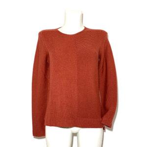 Maglia in lana color mattone - Boutique Viggiani - Shopping online - Abbigliamento donna casual e cerimonia a Pisticci