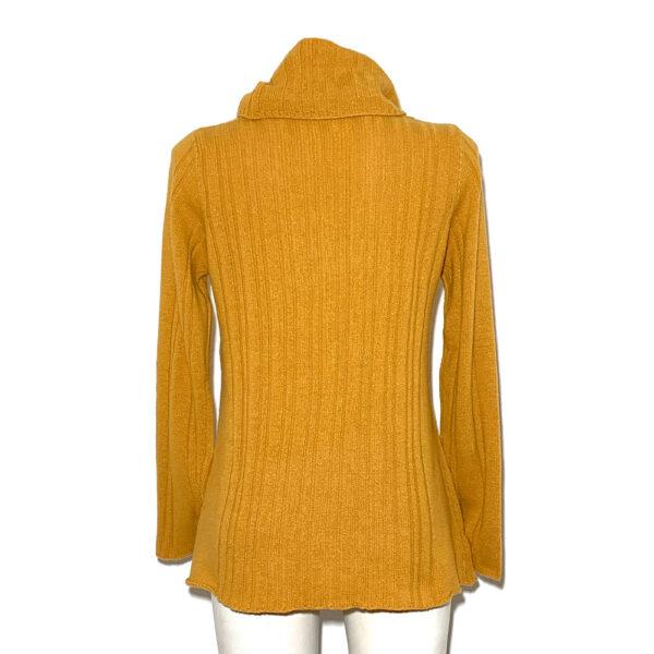 Maglia in lana giallo ocra - Boutique Viggiani - Shopping online - Abbigliamento donna casual e cerimonia a Pisticci