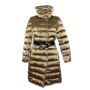 Piumino oro simil piuma - Boutique Viggiani - Shopping online - Abbigliamento donna casual e cerimonia a Pisticci