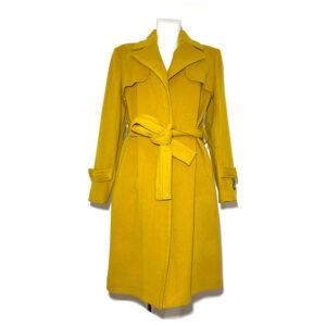Cappotto giallo senape - Boutique Viggiani - Shopping online - Abbigliamento donna casual e cerimonia a Pisticci