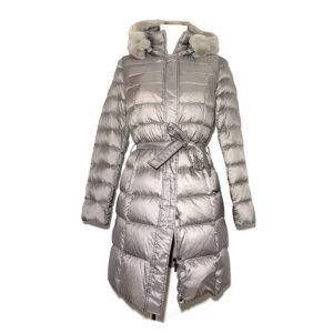Piumino platino in vera piuma - Boutique Viggiani - Shopping online - Abbigliamento donna casual e cerimonia a Pisticci