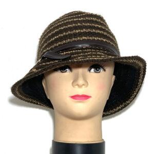 Cappello borsalino testa di moro e lurex - Boutique Viggiani - Shopping online - Abbigliamento donna casual e cerimonia a Pisticci