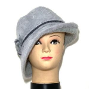 Cappello a cloche asimmetrico grigio perla - Boutique Viggiani - Shopping online - Abbigliamento donna casual e cerimonia a Pisticci