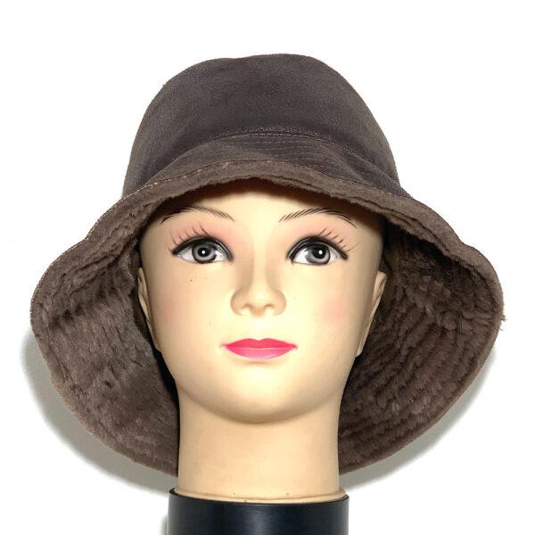 Cappello a cloche ecomontone testa di moro - Boutique Viggiani - Shopping online - Abbigliamento donna casual e cerimonia a Pisticci