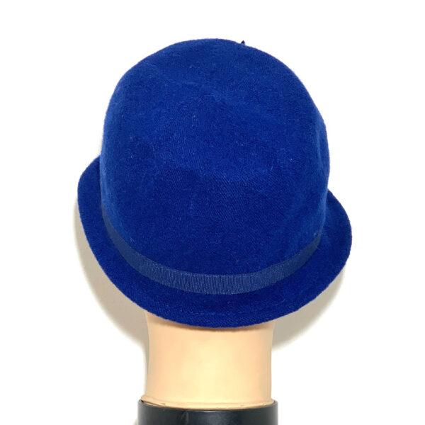 Cappello borsalino a falda stretta bluette - Boutique Viggiani - Shopping online - Abbigliamento donna casual e cerimonia a Pisticci