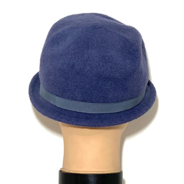 Cappello borsalino a falda stretta indaco - Boutique Viggiani - Shopping online - Abbigliamento donna casual e cerimonia a Pisticci