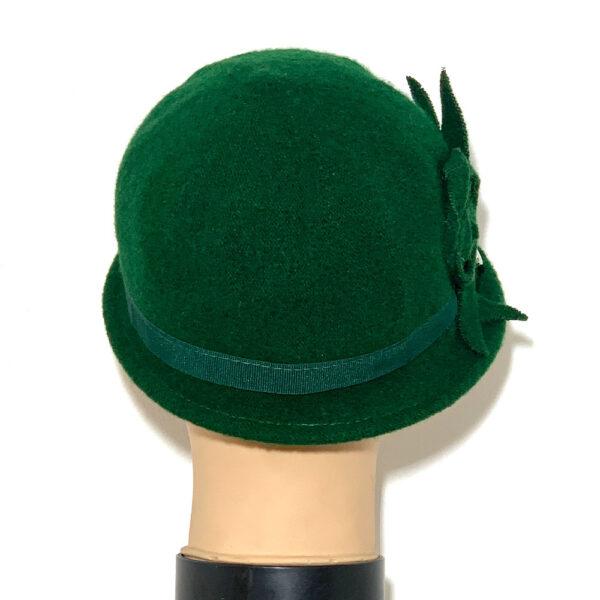 Cappello borsalino a falda stretta verde - Boutique Viggiani - Shopping online - Abbigliamento donna casual e cerimonia a Pisticci